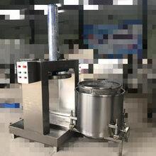 黄瓜脱水压榨机贵州海产品压榨机单桶压榨机图片