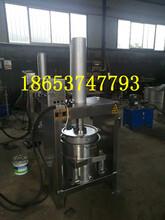 蘿卜壓榨機四川菠菜收汁壓榨機雙桶壓榨機圖片