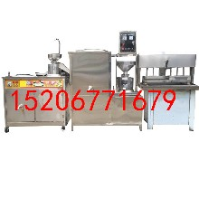 大型做豆腐机陕西不糊锅蒸汽式豆腐机图片