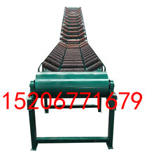 电动升降运输机可移动式皮带输送机自贡带防尘罩图片