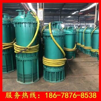 礦用排污泵BQS80-20-11kw污水處理站用防爆防堵耐腐蝕潛水電泵