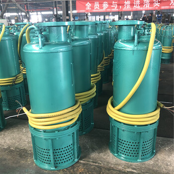 礦下防爆潛水電泵BQS50-30-7.5kw內蒙古礦山污水排污泵煤安認證