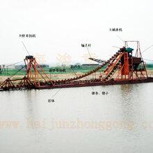 专业生产各种型号产量挖沙船、挖沙机械。