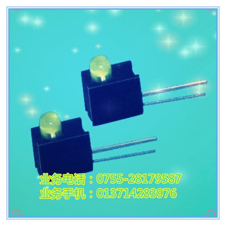 厂家直销LED隔离柱Φ4.5mm、LED隔离柱、PC板LED灯座、PCB尼龙发光二极管隔离柱