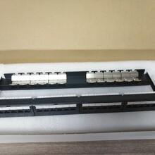 深圳TCL六类配线架24口RJ45接口端子式配线架图片