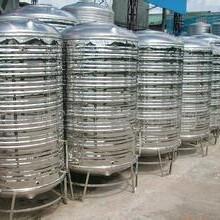 河南泉海不锈钢容器有限公司,圆形保温水箱,方形消防水箱432图片