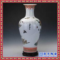 定做花瓶,落地花瓶,花瓶厂家,手绘花瓶