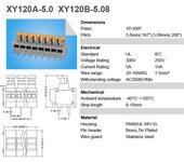 xy120a弹簧式接线端子