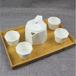 批发纯白骨质瓷茶具套装创意陶瓷礼品茶壶定制企业LOGO