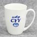骨质瓷V杯办公室水杯广告促销礼品陶瓷杯可定制logo