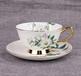 批发欧式咖啡杯碟陶瓷茶水杯骨瓷咖啡具套装商务礼品定制