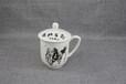 厂家批发陶瓷水杯办公室茶水杯定制礼品骨质瓷马克杯