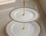 西式三层蛋糕盘时尚礼品点心盘家用创意下午茶点心盘