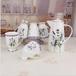 陶瓷水具套装创意骨瓷大容量耐热凉水壶家用一壶六杯礼品套装