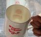唐山骨质瓷马克杯陶瓷会议杯大容量景式杯办公茶水杯广告杯
