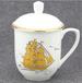 陶瓷茶杯商务办公老板杯骨瓷水杯厂家定做礼品会议杯