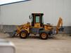厂家直销两头忙挖掘机前装后挖多功能挖装机龑