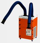 移动双臂焊接烟尘净化设备自动反吹焊烟净化器图片