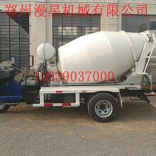 罐车厂家直销6方搅拌车水泥运输罐车小型混凝土搅拌车郑州漫星图片