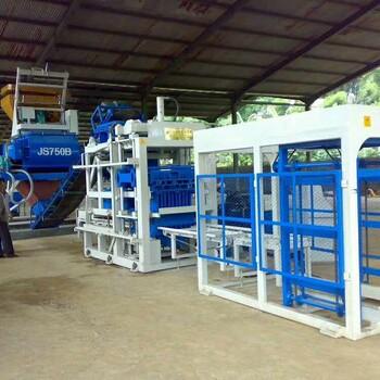 全自动混凝土免烧砌砖成型制砖机免烧水泥砖机设备空心砖机价格