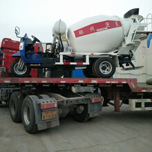 混凝土搅拌运输车水泥搅拌车东风单桥4-6立方搅拌车图片