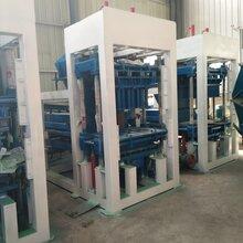 制砖机厂家全自动3-15免烧水泥垫块砖机一机多用制砖