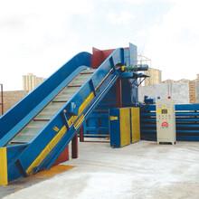山東智能環保200型全自動液壓廢紙打包機優質高效全自動打包機設備廠家圖片