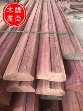防腐防蛀紅梢木碼頭圍欄,紅梢木工廠直供圖片