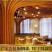 餐厅专用木纹弧形铝方通吊顶造型铝方通,弧形铝方通,