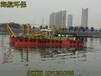 四川省新龙县300立方大型鱼塘清淤机