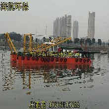 四川省新龍縣300立方大型魚塘清淤機圖片