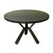 深圳市众美德专业定制中式餐桌钢木餐桌转动餐桌
