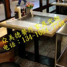实木火锅桌火锅店家具定做餐饮家具定做批发