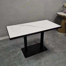 餐廳大理石桌子,人造石餐臺定做廠家,石材餐桌價格實惠