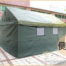 帐篷厂家出售4乘6米帆布帐篷工地施工帐篷户外展销帐篷临时安置房防晒雨棚