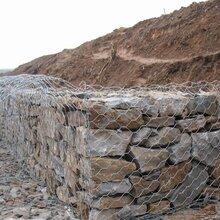 安平铅丝石笼网防洪格宾石笼网箱护岸镀锌石笼网垫护坡