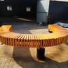 河北保定户外长凳生产厂家园林景观木座凳户外铸铁公园休闲长椅实木公园椅价格