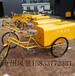 垃圾三轮车厂家环卫人力三轮车天津环卫垃圾保洁车定制24型铁板人力三轮保洁车