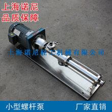 上海诺�酭V6.3小型螺杆泵微型螺杆泵点胶螺杆泵螺杆计量泵图片