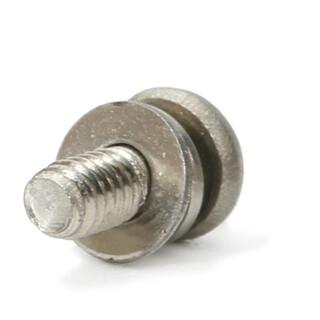 不锈钢圆头梅花弹垫微型螺丝现货供应,世世通非标螺丝定制厂家图片1