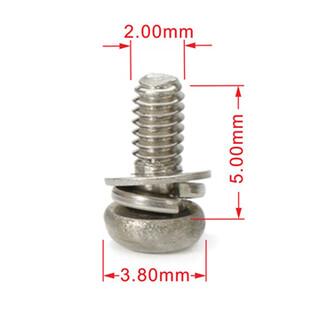 不锈钢圆头梅花弹垫微型螺丝现货供应,世世通非标螺丝定制厂家图片4