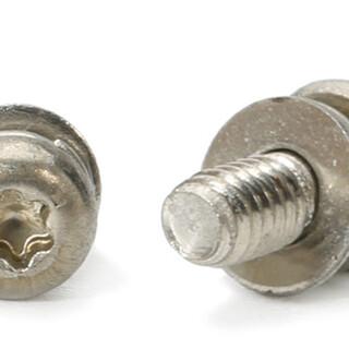 不锈钢圆头梅花弹垫微型螺丝现货供应,世世通非标螺丝定制厂家图片5