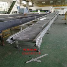 速冻产品传送带不锈钢网链输送机食品网带输送机速冻流水线厂家
