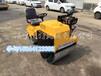 广西梧州小型方向盘式压路机价格沃特载人式双钢轮回填土压实机厂家直销