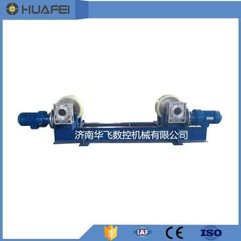 济南华飞数控厂家直供20吨可调式焊接操作机滚轮架