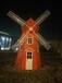 展览展示道具仿真恐龙荷兰风车微景观建筑模型租赁