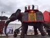 房產慶典機械大象展覽鉆石隧道出租機械大象租賃