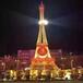 江蘇埃菲爾鐵塔定制出租埃菲爾鐵塔建筑模型出租