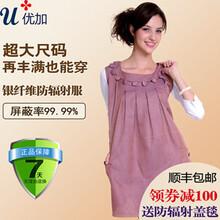 李小璐同款优加彩银纤维孕妇防辐射服YJ-YF022图片