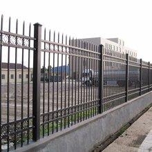 阳江钢圈护栏锌钢护栏,围墙护栏铁艺栏杆价格